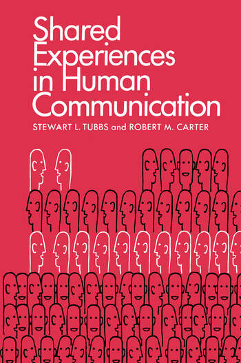 Shared Experiences in Human Communication book cover