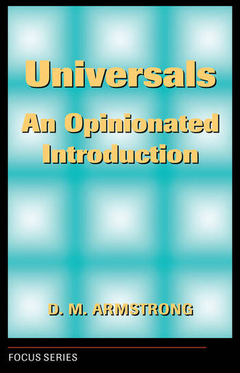 Universals An Opinionated Introduction book cover