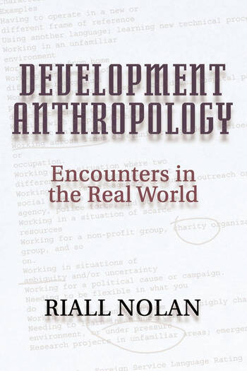 Development Anthropology book cover