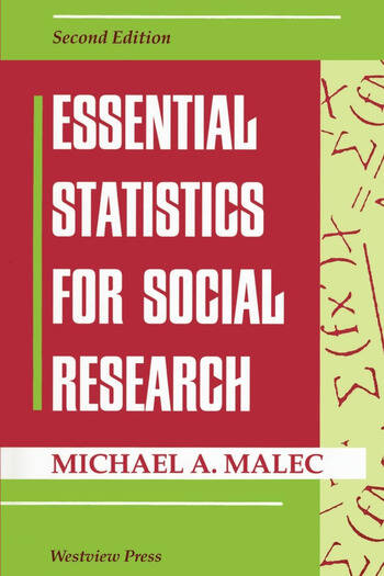 Essential Statistics For Social Research book cover