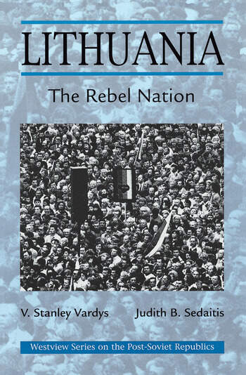 Lithuania The Rebel Nation book cover