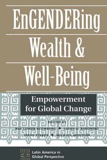 Engendering Wealth And Well-being Empowerment For Global Change book cover