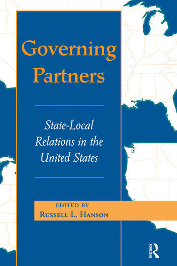 Governing Partners State-local Relations In The United States book cover