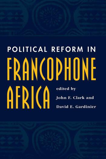 Political Reform In Francophone Africa book cover