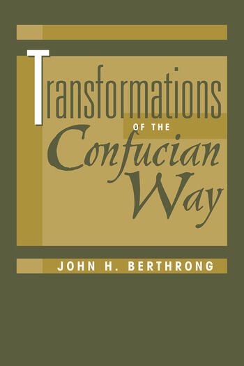 Transformations Of The Confucian Way book cover