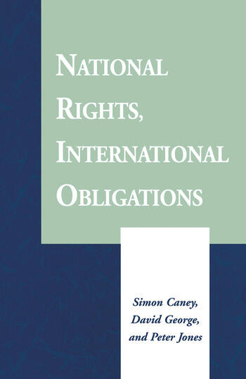 National Rights, International Obligations book cover
