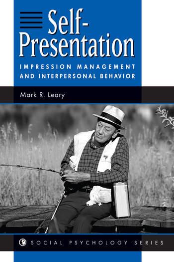 Self-presentation Impression Management And Interpersonal Behavior book cover