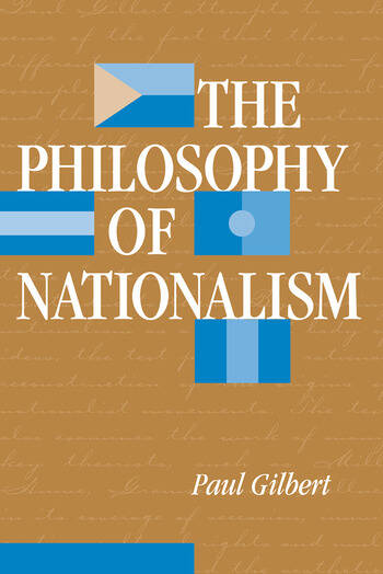 The Philosophy Of Nationalism book cover