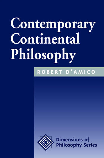 Contemporary Continental Philosophy book cover