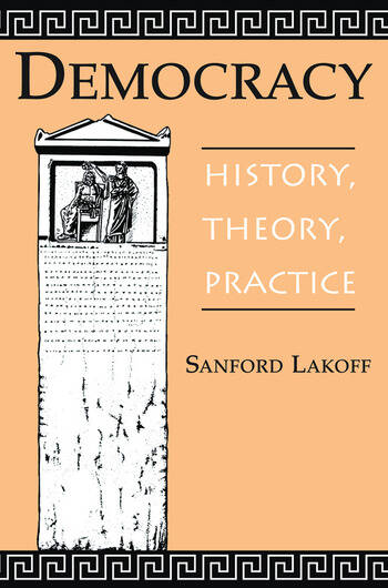 Democracy History, Theory, Practice book cover