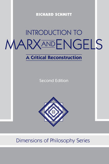 Introduction To Marx And Engels A Critical Reconstruction book cover
