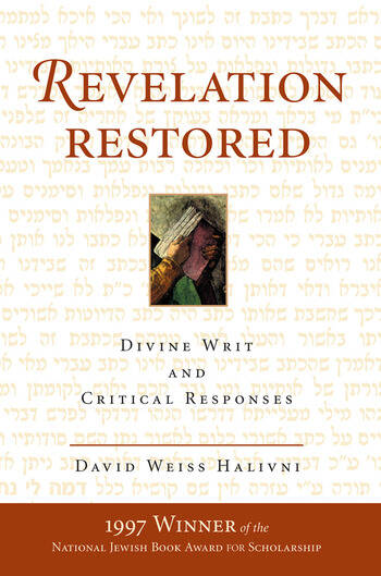 Revelation Restored Divine Writ And Critical Responses book cover