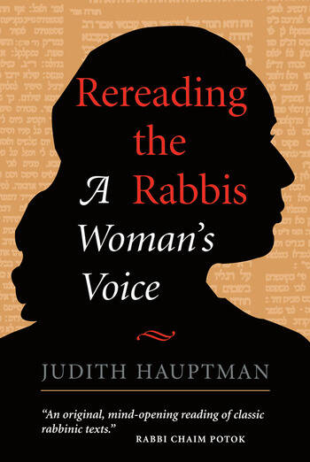 Rereading The Rabbis A Woman's Voice book cover