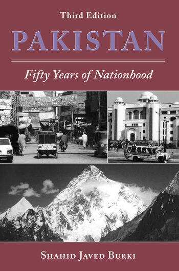 Pakistan Fifty Years Of Nationhood, Third Edition book cover