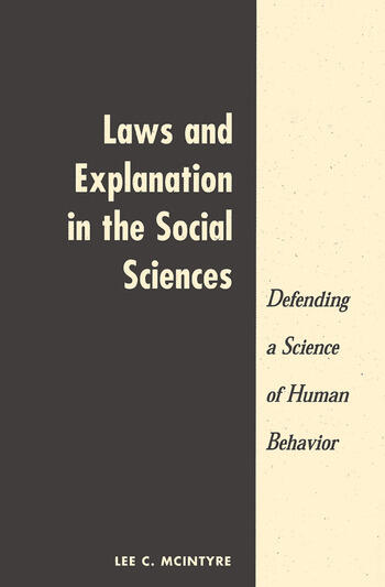 Laws And Explanation In The Social Sciences book cover