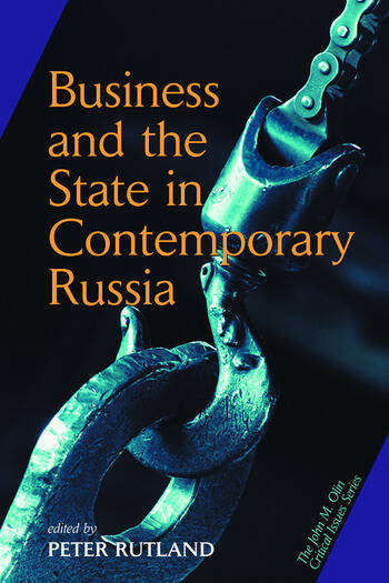 Business And State In Contemporary Russia book cover