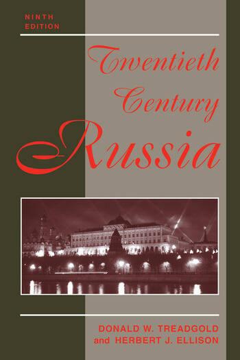 Twentieth Century Russia Ninth Edition book cover