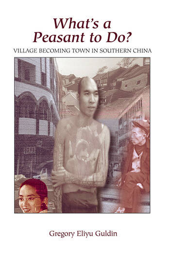 What's A Peasant To Do? Village Becoming Town In Southern China book cover