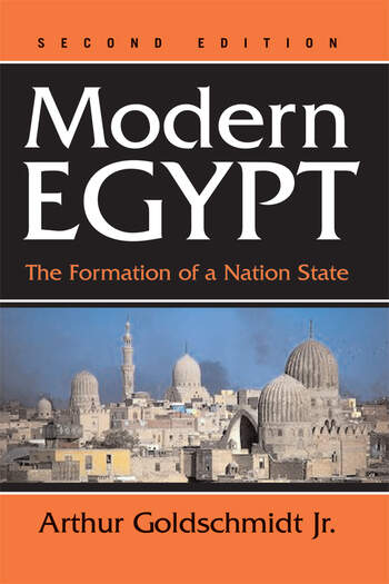 Modern Egypt The Formation Of A Nation-state book cover