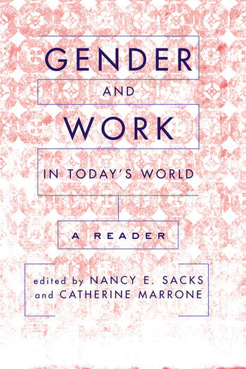 Gender And Work In Today's World A Reader book cover