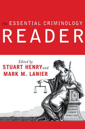 The Essential Criminology Reader book cover