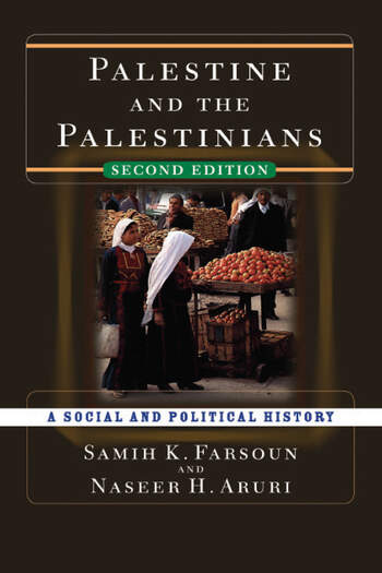 Palestine and the Palestinians A Social and Political History book cover