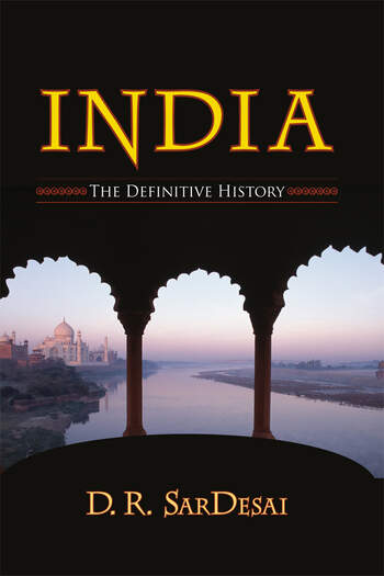 India The Definitive History book cover