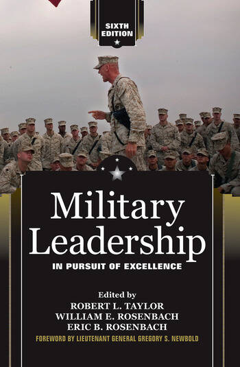 Military Leadership In Pursuit of Excellence book cover