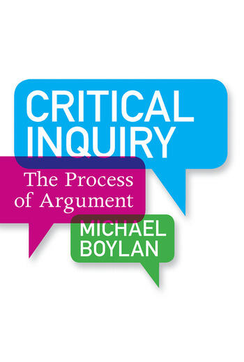 Critical Inquiry The Process of Argument book cover