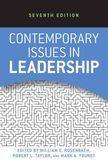 Contemporary Issues in Leadership book cover