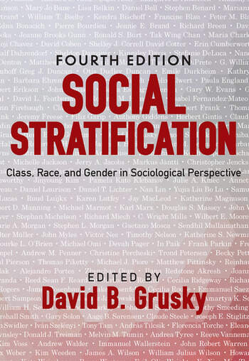 Social Stratification Class, Race, and Gender in Sociological Perspective book cover
