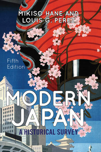 Modern Japan A Historical Survey book cover