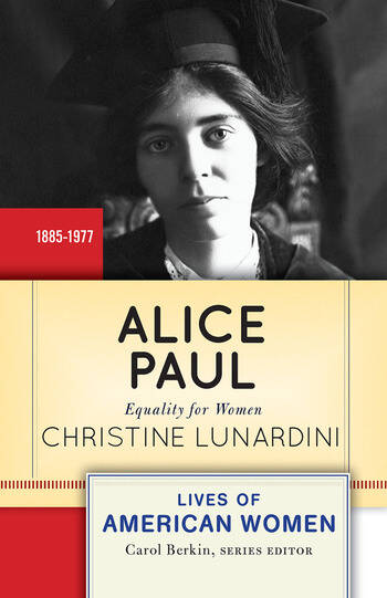 Alice Paul Equality for Women book cover