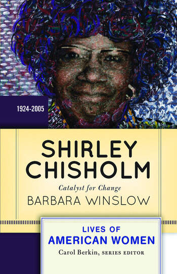 Shirley Chisholm Catalyst for Change book cover