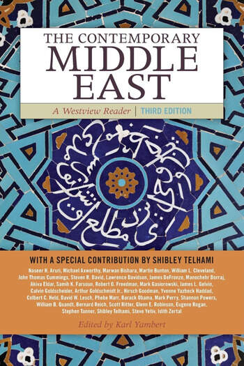 The Contemporary Middle East A Westview Reader book cover