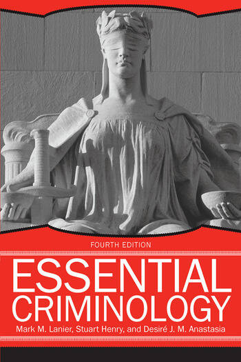 Essential Criminology book cover