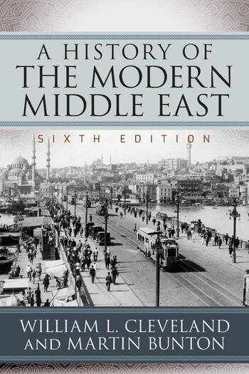 A History of the Modern Middle East book cover