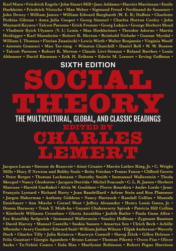 Social Theory The Multicultural, Global, and Classic Readings book cover