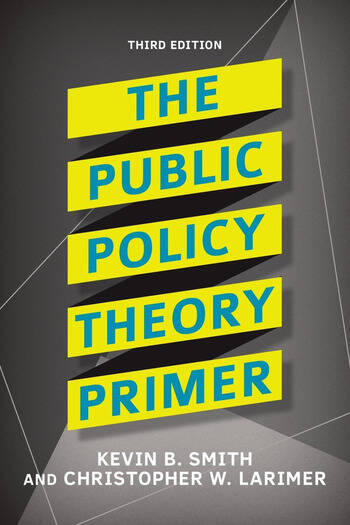 The Public Policy Theory Primer book cover