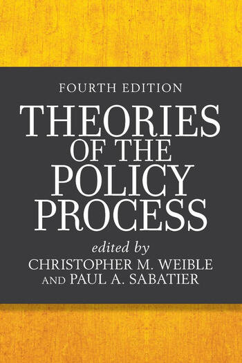 Theories of the Policy Process book cover