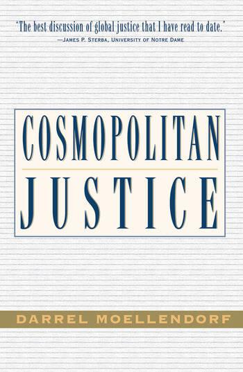 Cosmopolitan Justice book cover