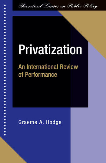 Privatization An International Review Of Performance book cover