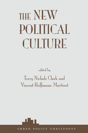The New Political Culture book cover