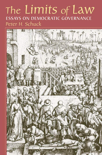 Limits Of Law Essays On Democratic Governance book cover