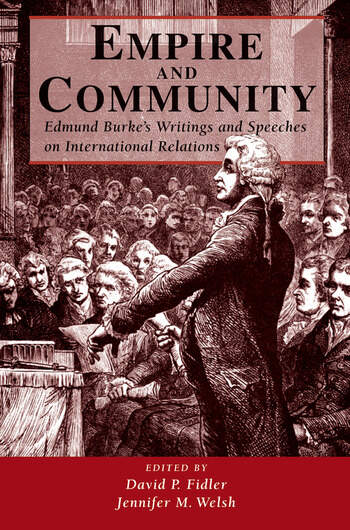 Empire And Community Edmund Burke's Writings And Speeches On International Relations book cover