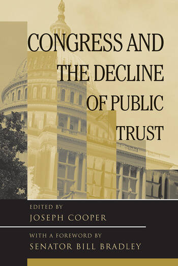 Congress and the Decline of Public Trust book cover