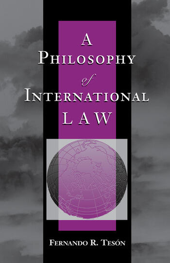 A Philosophy Of International Law book cover