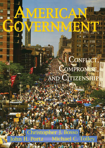 American Government Conflict, Compromise, And Citizenship book cover