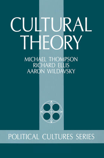 Cultural Theory book cover