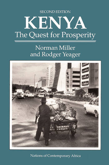 Kenya The Quest For Prosperity, Second Edition book cover